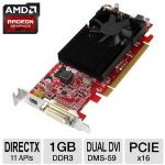 VisionTek 900463 Radeon HD 6570 Video Card - 1024MB, DDR3, PCI-Express (x16), 1x DMS59, 1x Mini DisplayPort, DirectX 11, Single-Slot, Low Profile