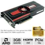 VisionTek 900492 Radeon HD 7950 Video Card - 3072MB, GDDR5, PCI-Express 3.0 (x16), 1x Dual-Link DVI-I, 1x Single-Link DVI-D, 1x HDMI, 2x Mini DisplayPort, DirectX 11, Dual-Slot, CrossFireX, Eyefinity