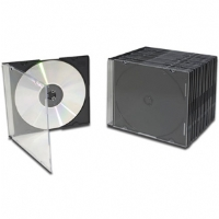 BK Media 200-Pack Slim Jewel Cases