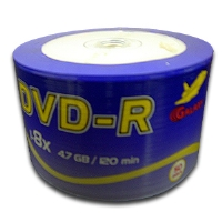 BK Media GLXY-8X-DVD-R DVD-R  - 50 Pack, 8X, Spindle
