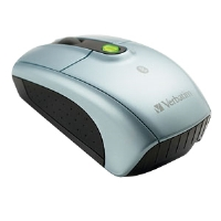 Verbatim 96674 Bluetooth Wireless Notebook Laser Mouse - 1600 dpi, Tilt Wheel