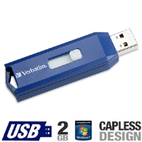 Verbatim 97086 USB Flash Drive - 2GB