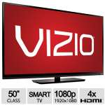 "Vizio 50"" Class 1080p Full-Array LED Smart HDTV - Full HD, 1920x1080, 120Hz, 4x HDMI, WiFi - E500I-B1 BX"