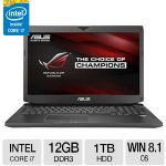 "ASUS ROG Intel Core i7 12GB Memory 1TB HDD NVIDIA GTX 860M 17.3"" Notebook Windows 8.1 64-bit 1YR Accidental Damage Protection Included - G750JM-DS71"