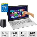 "ASUS N550JK Core i7 8GB 15.6"" FHD Touch Notebook"