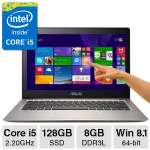"Asus Zenbook Core i5 8GB 128SSD 13.3"" FHD Laptop"