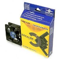 Vantec Stealth 60mm Cooling Fan with Double Ball Bearing - Silent