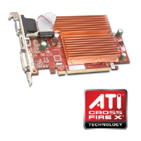 Visiontek 900231 Radeon HD 3450 Video Card - 512MB DDR2, PCI Express 2.0, CrossFireX Ready, (Dual Link) DVI, VGA, HDMI