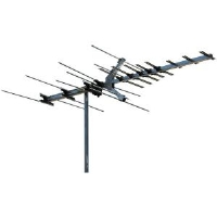 Winegard HD7694P Outdoor TV Antenna - HDTV, High Band VHF/UHF, 45 Mile Range