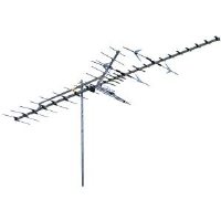 Winegard HD7698P Outdoor HDTV Antenna - High Band, 64 Active Elements, Range 70 miles VHF & 60 miles UHF