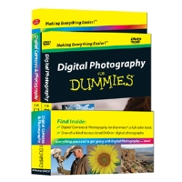 Digital Photography for Dummies DVD and Book