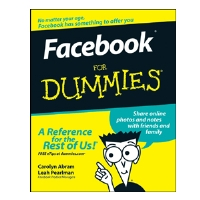 Facebook for Dummies Book