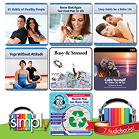 HEALTH, HAPPINESS AND WELLNESS AUDIOBOOK: 7 TITLE