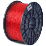 Flashforge Translucent Red 1.75mm PLA Filament Cartridge - 3DBUMPLATR