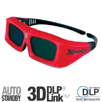 Sharp Xpand X102 DLP Link 3D Glasses - Automatic Off