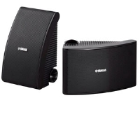 Yamaha NS-AW392BL All-Weather Speakers - Pair, Frequency Response 60 Hz�25 kHz, Mounting Brackets