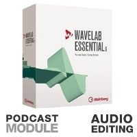 Steinberg 502020950 WaveLab Essential 6 - Audio Editing, CD Burning, Professional 96 kHz/32-bit Audio Quality, Podcasting Module, FTP Client, RSS 2.0 Support