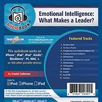 EMOTIONAL INTELLIGENCE AUDIOBOOK BY DANIEL GOLEMAN
