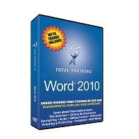 Total Training for Microsoft Word 2010 - self-training course - DVD
