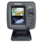 "HUMMINBIRD 386CI DI - 3.5"" Display With LED Backlight, GPS Chartplotting With Built-in UniMap�, Down Imaging� and SwitchFire Sonar, DualBeam PLUS Sonar, 455/800/200/455 kHz - 409050-1"