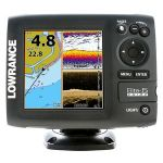 "Lowrance Elite-5 Chirp Gold- 5"" Screen, With XDCR 83/200 + 455/800, Chirp Sonar, DownScan Imaging, Built-in GPS Antenna, Insight Genesis�, DownScan Overlay� Technology,  ASP -000-11652-001"