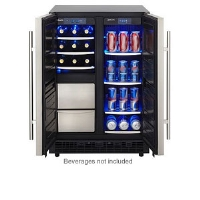 Danby DPC6012BLS Beverage Center - 4.65 Cubic Ft Capacity, Interior Light, Frost Free, LED Display, Electronic Thermostat, Stainless Steel
