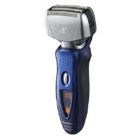 Panasonic ES8243A Arc IV Shaver - Quadruple Arc Foil, Nanotech Blades, LCD, Wet/Dry, Turbo Cleaning Mode, Pop-up Trimmer, Blue