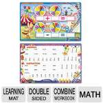 SpinnerZ Dry Erase Learning Mat, Math