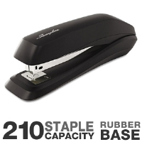 "Acco 54501 Swingline Standard Stapler - 210 Staple Capacity, .25"" Staples, Metal, Plastic, Black"
