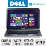 "Dell Inspiron 14"" Core i5 500GB+32GB SSD Ultrabook"
