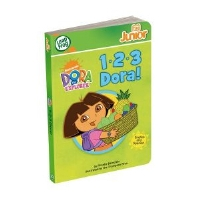 LeapFrog 21107 Tag Junior 1-2-3 Dora! Book - 24 Activities, 150 Audio Responses, Introduces Counting, Spanish Vocabulary, Ages 2-4