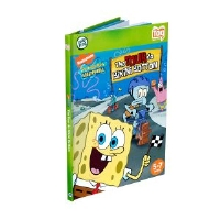 LeapFrog 30674 Tag SpongeBob SquarePants Book - The Tour de Bikini Bottom, Word Recognition, Phonic Skills, Ages 5-7