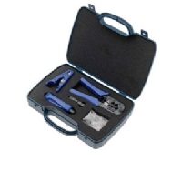 Paladin Tools PA70007 DataShark Network Tool Kit - Modular Plug Crimper, Universal Cable Stripper, 110 Punchdown Tool