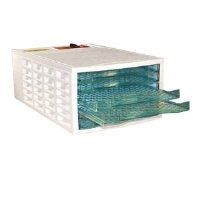 Weston 75-0301-W VegiKiln Food Dehydrator - 6 Tray, Rear Mounted Drying System, ABS Thermoplastic Construction