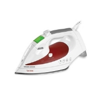 Black & Decker D1500 Digital Advantage Iron - Vertical Steam, Smart Steam, Anti Drip, INOX Stainless Steel Soleplate, 3-Way Auto Shut Off