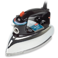 Black & Decker F67E The Classic Iron - Aluminum Soleplate, 3-Way Auto Shut Off, Anti Drip