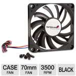 StarTech.com Replacement 70mm TX3 Dual Ball Bearing CPU Cooler Fan - Case fan - 70 mm - black (FAN7X10TX3)