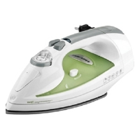 Black & Decker ICR500 First Impressions Iron - Cord Reel, Smart Steam, Auto Clean, Anti Drip, 1400 Watts, Green