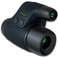 Night Owl NONEXGENW Night Vision Monocular - 2x Zoom, Lightweight, 500x Ambient Light, Generation 1 Technology