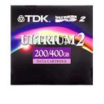 "1/2"" Ultrium LTO-2 Cartridge, 1998ft, 200GB Native/400GB Compressed Capacity-27694"
