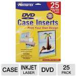 MEMOREX 25PK DVD STORAGE CASE