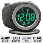 Elgin  Electric Time-Ready LCD Projector Dual Alarm Clock