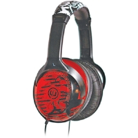 Wicked  Red Reverb Full-Size Headphones