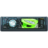 "BOSS BV7320 3.2"" SINGLE-DIN IN-DASH DVD RECEIVER"