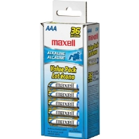 Maxell  AAA Gold Series Alkaline Batteries Bulk Retail Pack - 36 Pack