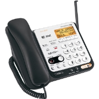 AT&T  2-Line DECT 6.0 Corded/Cordless Phone with Caller ID and ITAD