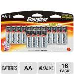 Energizer  Alkaline AA Battery - 16 Pack
