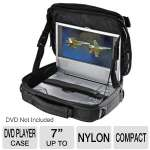 Case Logic  7&quot; Nylon DVD Player Case With Suspension System