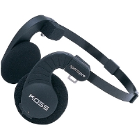 Koss SPORTA-PRO Stereophones With Flexible Headband Design