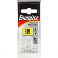 Energizer 319BP 1.5V Silver Oxide Button Battery Retail Pack - Single